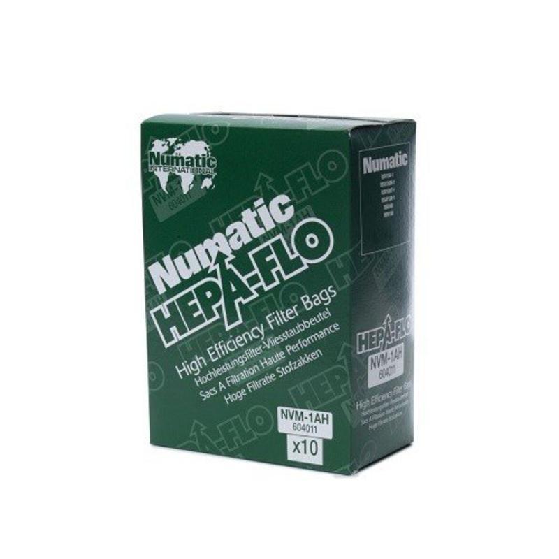 Numatic NVM-1AH HepaFlo stofzakken, 10 stuks