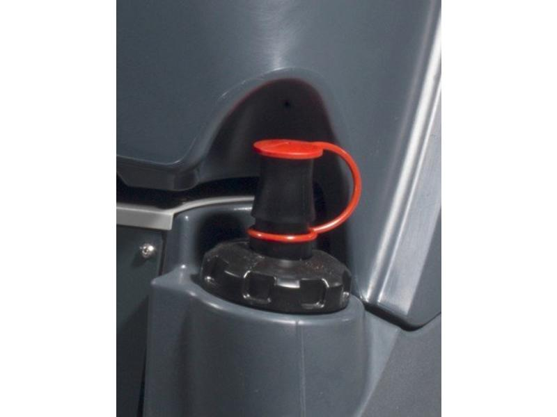 Numatic Numatic Twintec 'opzit' schrob-zuigmachine CRO-8055 120T grijs