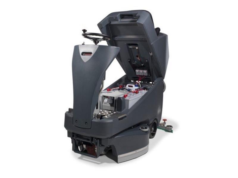 Numatic Numatic Schrob-zuigmachine TTV-678 G 24 Volt grijs
