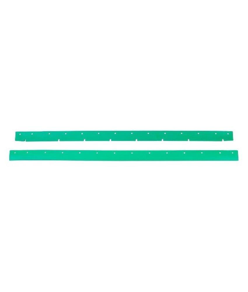 Numatic Rubbers polyurethaan groen (set) t.b.v. zuigmond 750 (werkbreedte 944mm)
