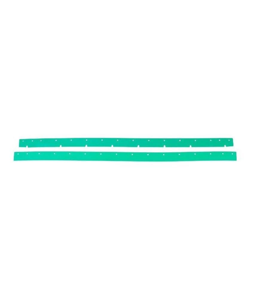 Numatic Rubbers polyurethaan groen (set) t.b.v. zuigmond 850 (werkbreedte 1053mm)