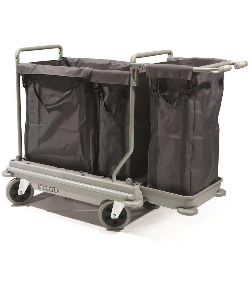 Numatic Wasgoedwagen NB 4003 grijs