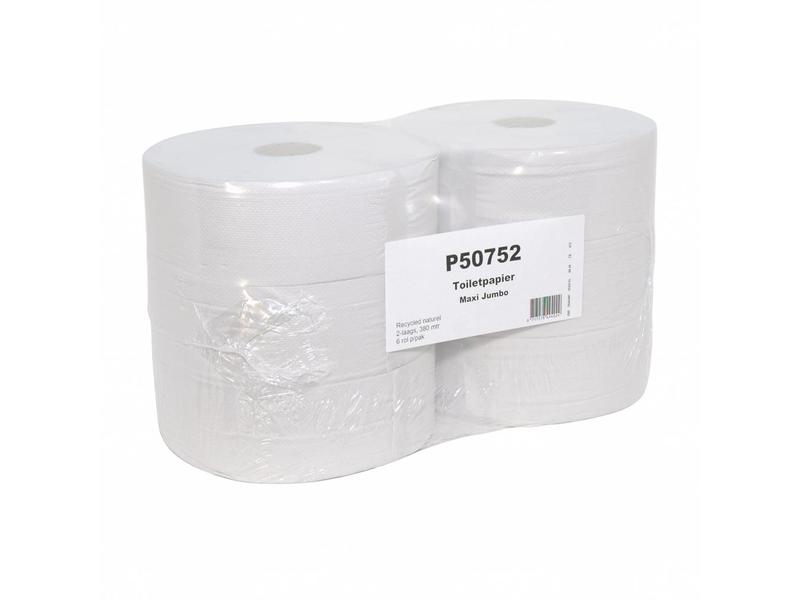 Euro Products Euro Products Toiletpapier recycled tissue euro maxi jumbo, 2-laags