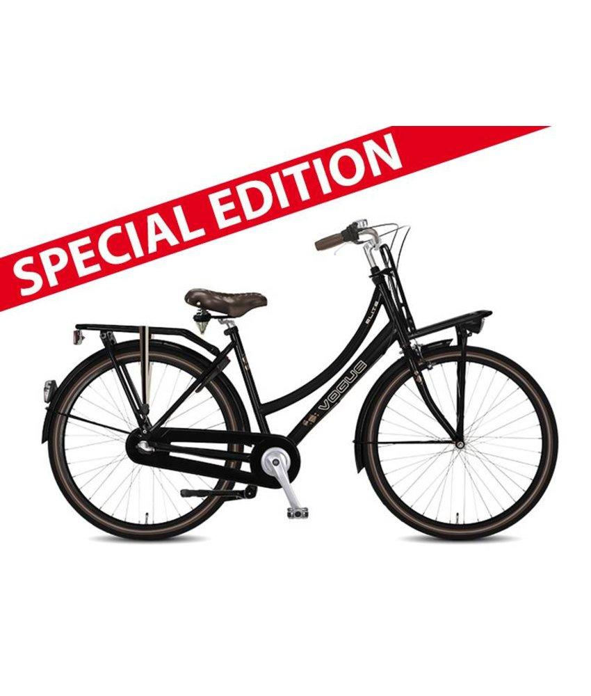 """Vogue Elite special edition 28"""" N7 mat zwart damesfiets"""