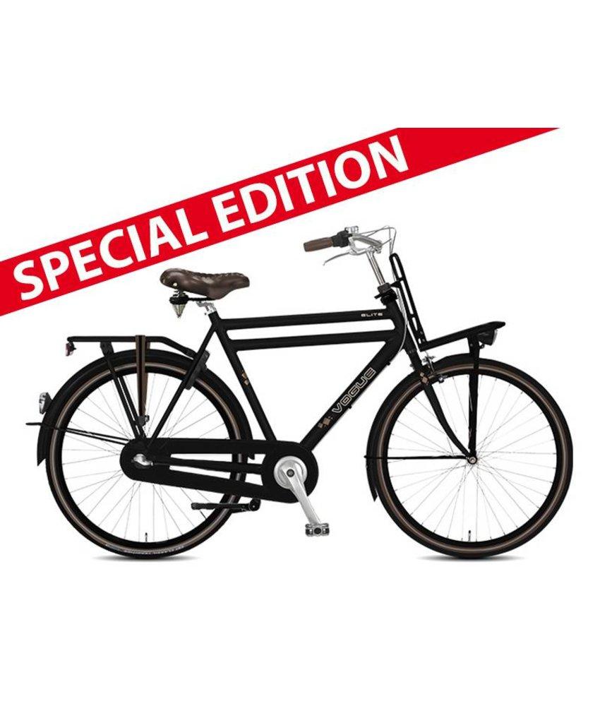 "Vogue Elite special edition 28"" N3 mat zwart herenfiets"