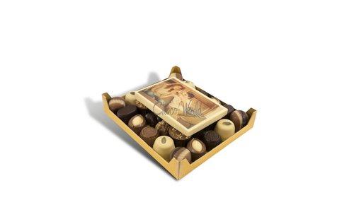 Chocolade met foto / logo