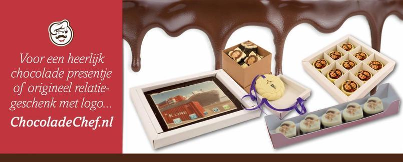 ChocoladeChef bonbons met foto