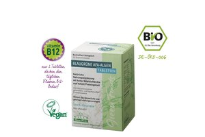 Wilco Green Foods Blaugrüne AFA Algen Bio, 150 Tabletten im Blister