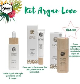 Naobay KIT ARGAN LOVE