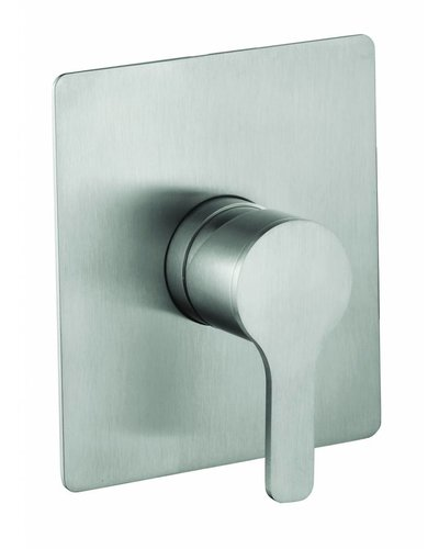 Steel & Brass Industrial 1-hole built-in mixer shower thermostat