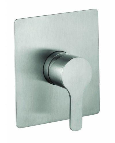 Steel & Brass Industrie-1-Loch-eingebaute Thermostat Brausearmatur