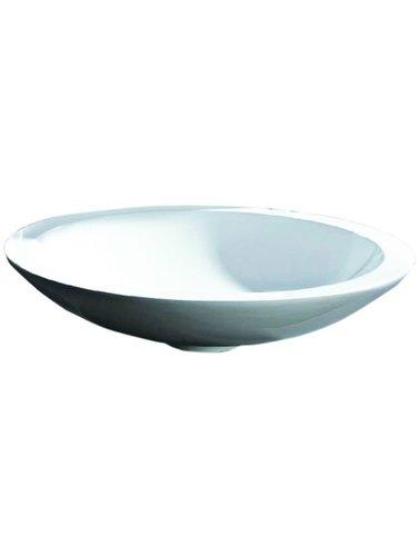 Steel & Brass Round Design Verbund Becken 510 mm