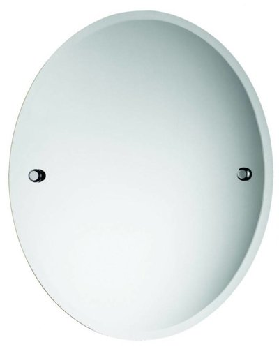 Bathroom mirror modern oval