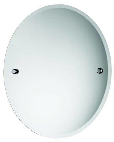 Bathroom mirror modern oval