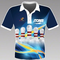 Damen Hemd Pin Blue