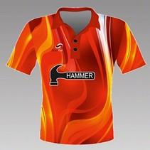 Heren Shirt Flame