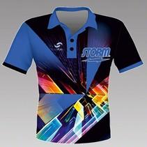 Herren Hemd Speed Blauw