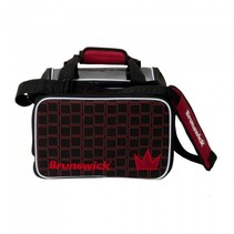Crown Single Tote Zwart/Rood