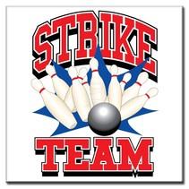 """Bedrukte tegeltjes """"Strike Team"""""""