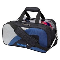Team Double Tote Blue/Silver