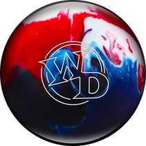 White Dot Patriot Sparkle bowling bal