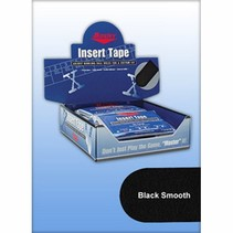 Black Smooth Insert Tape