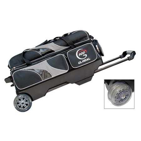 900 Global 3 Ball Deluxe Roller Black / Silver