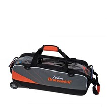 Triple Slim Roller Zwart/Oranje