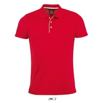 Herren Sports Polo Shirt Performer