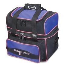 1 Ball Tote Flip Black/Purple bowlingtas
