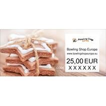 Gift Vouchers choice between 10-100 euro