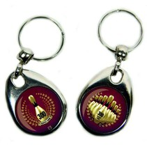 Key Chain with Double Picture