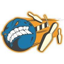 Contour Cut Bowling Sticker