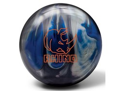 Brunswick Bowlingbal Rhino Black / Blue / Silver Pearl