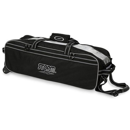 Storm Triple Tournament Tote Travel Zwart