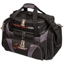 Deluxe Double Tote Black/Carbon