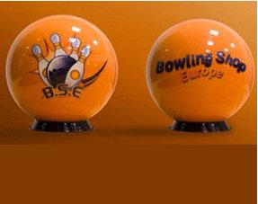 Eigene Bowlingball Design