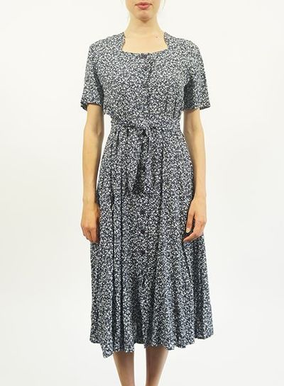 Vintage Dresses: French Flower Dresses