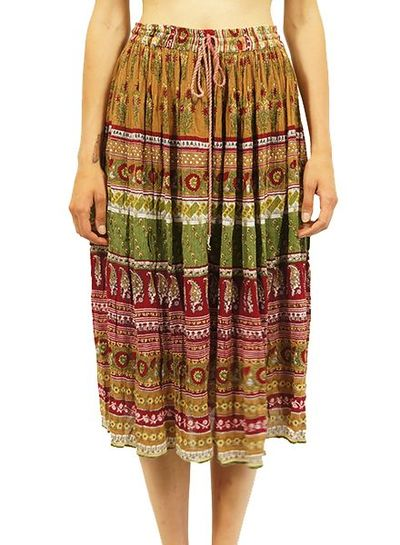 Vintage Skirts: Bohemian / Indian Skirts