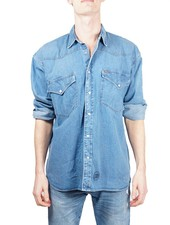 Chemises Vintage: Chemises en Jean