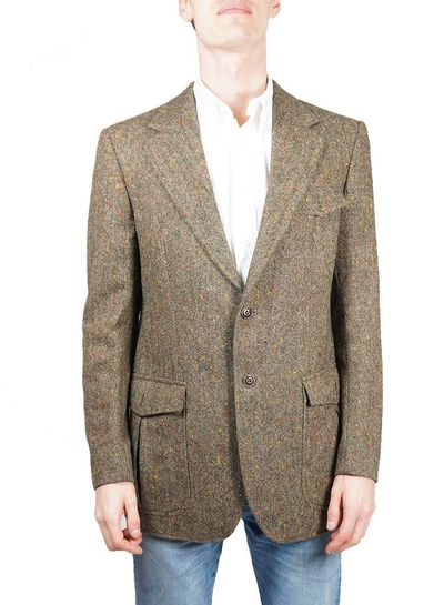 Vestes Vintage: Vestes Tweed