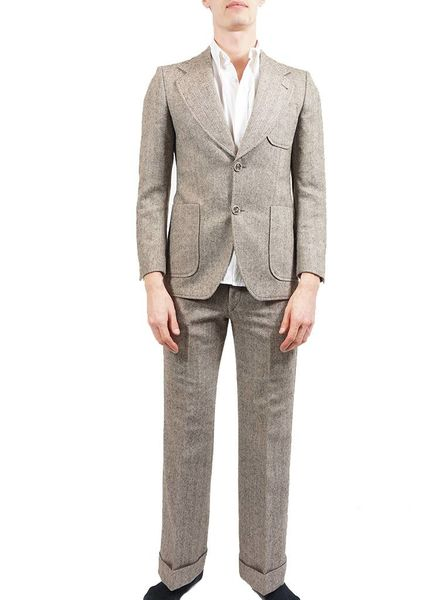 Vintage Suits & Sets: 70's Men Suits