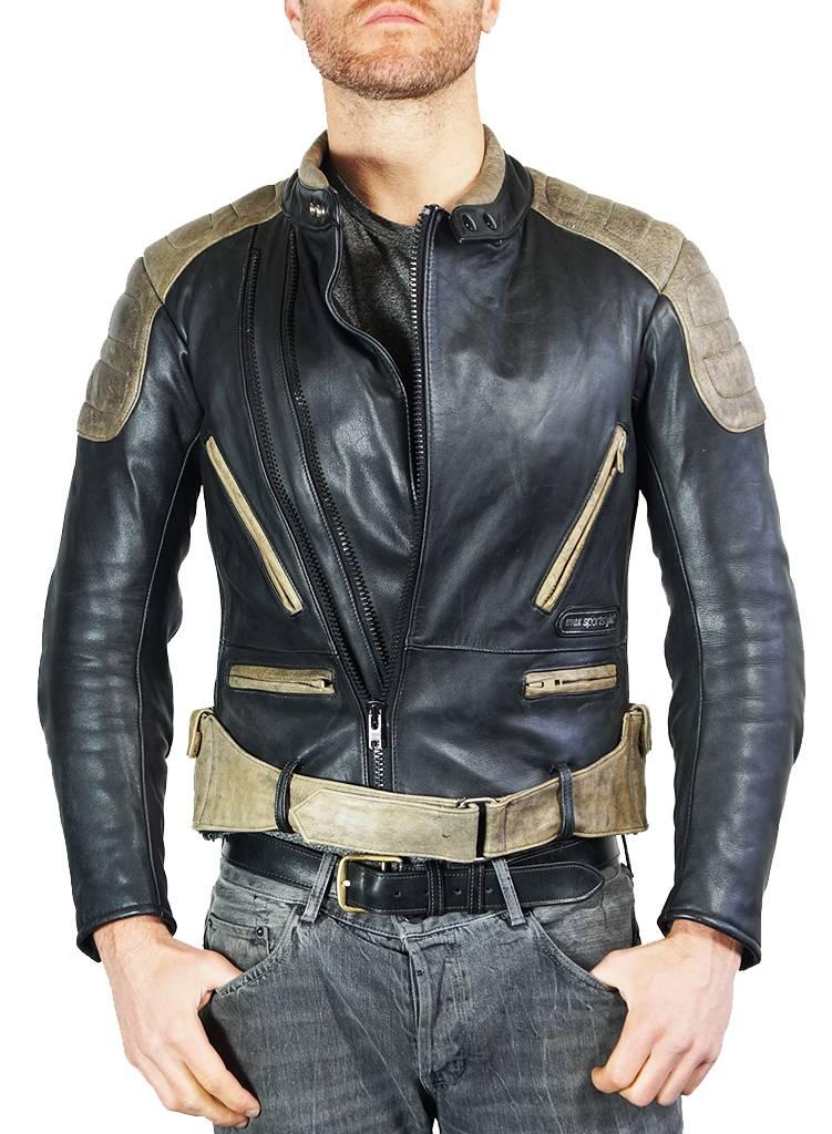 vintage jackets: café racer leather jackets - rerags vintage