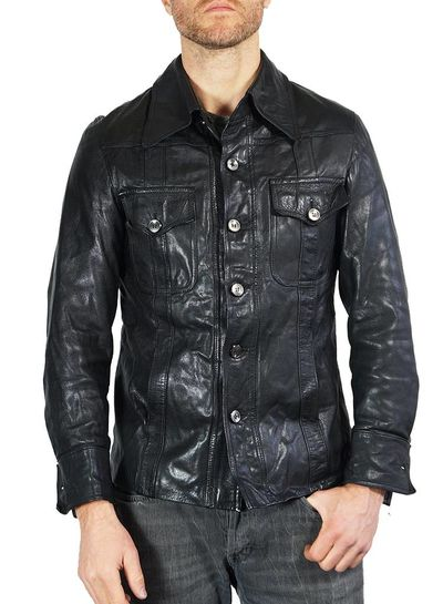 Vintage Jackets: 70's Napa Leather Jackets Mens