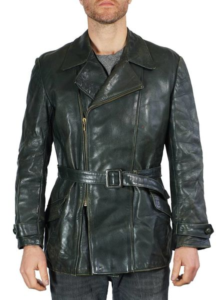 Vintage Coats: 40's Leather Barnstormer Jackets