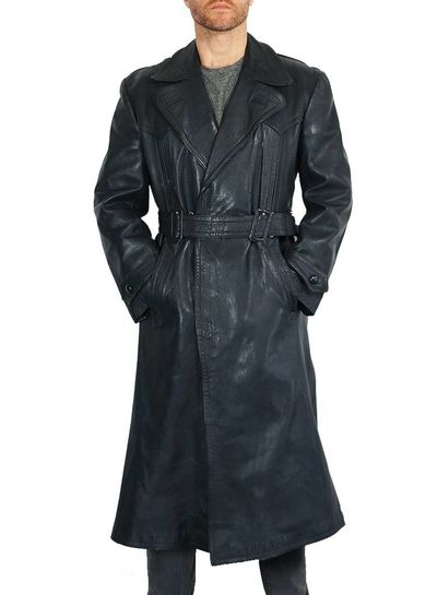 Vintage Coats: 40's Leather Coat
