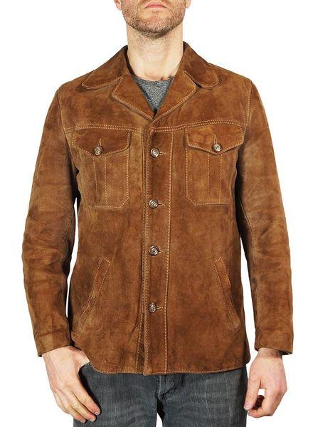 Vintage Jackets: 70's Suede Jackets Men