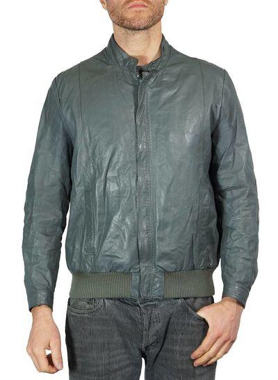Vintage Jackets: Leather Zip Jackets