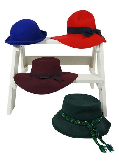 Vintage Hats: Ladies Fedora Hats