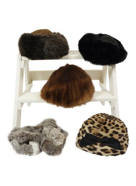 Chapeaux Vintage: Chapeaux en Fourrure